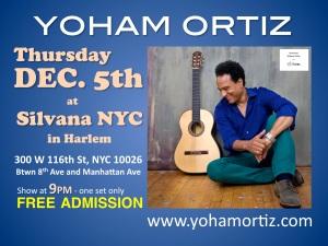 Yoham Ortiz Silvana flyer1